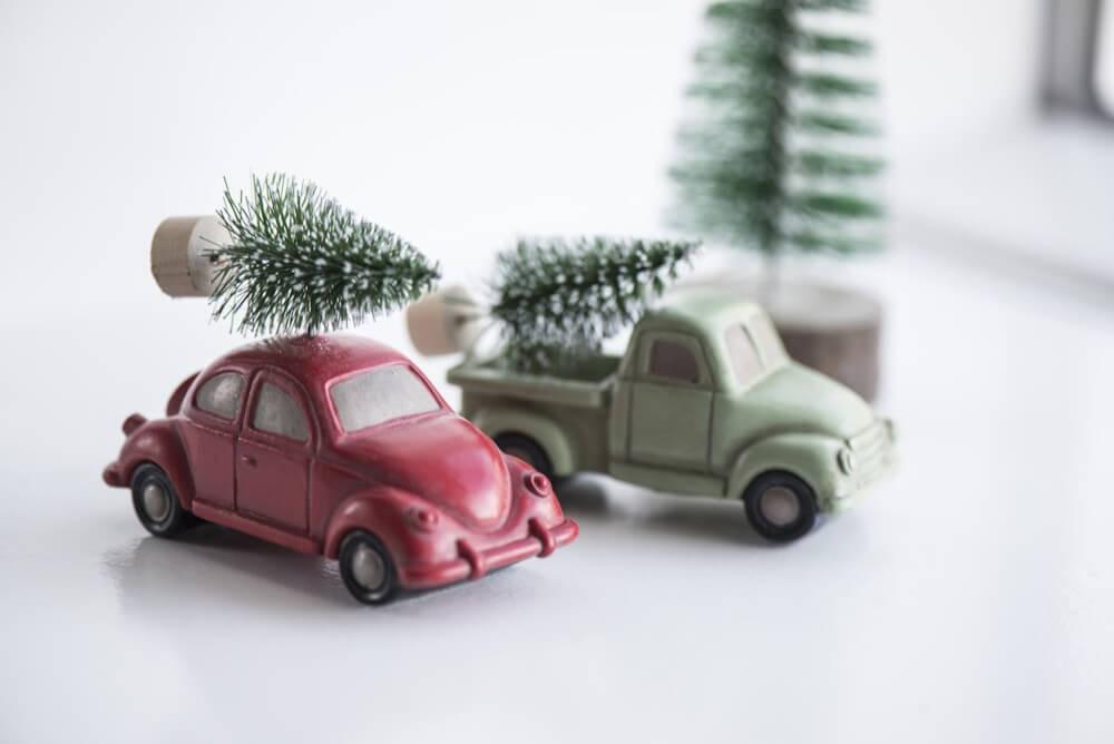 Ib Laursen Christbaumschmuck Auto Beetle Vw Kafer Mit Tannenbaum
