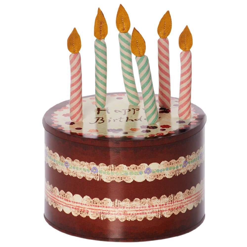 Maileg Birthday Candles In Cake Box